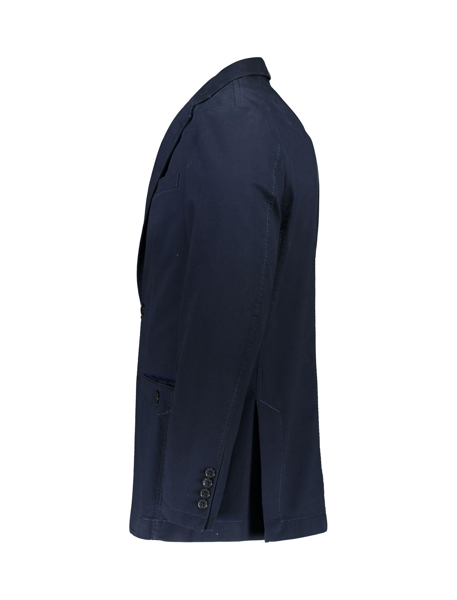 کت تک غیر رسمی مردانه - زاگرس پوش - سرمه اي - 2
