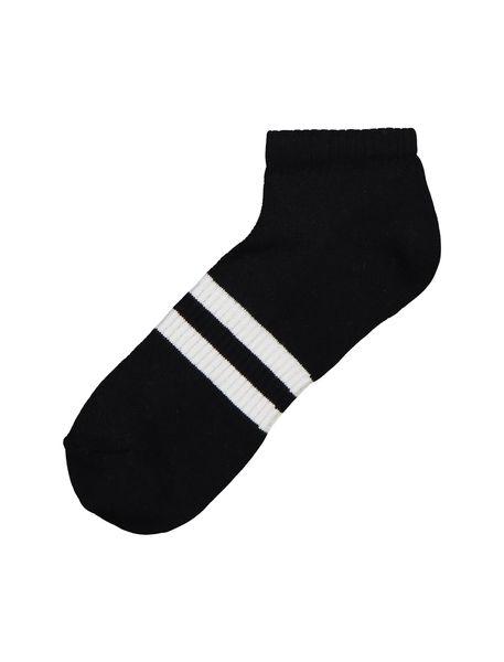 جوراب نخی ساق کوتاه مردانه بسته 3 عددی - چند رنگ - 3