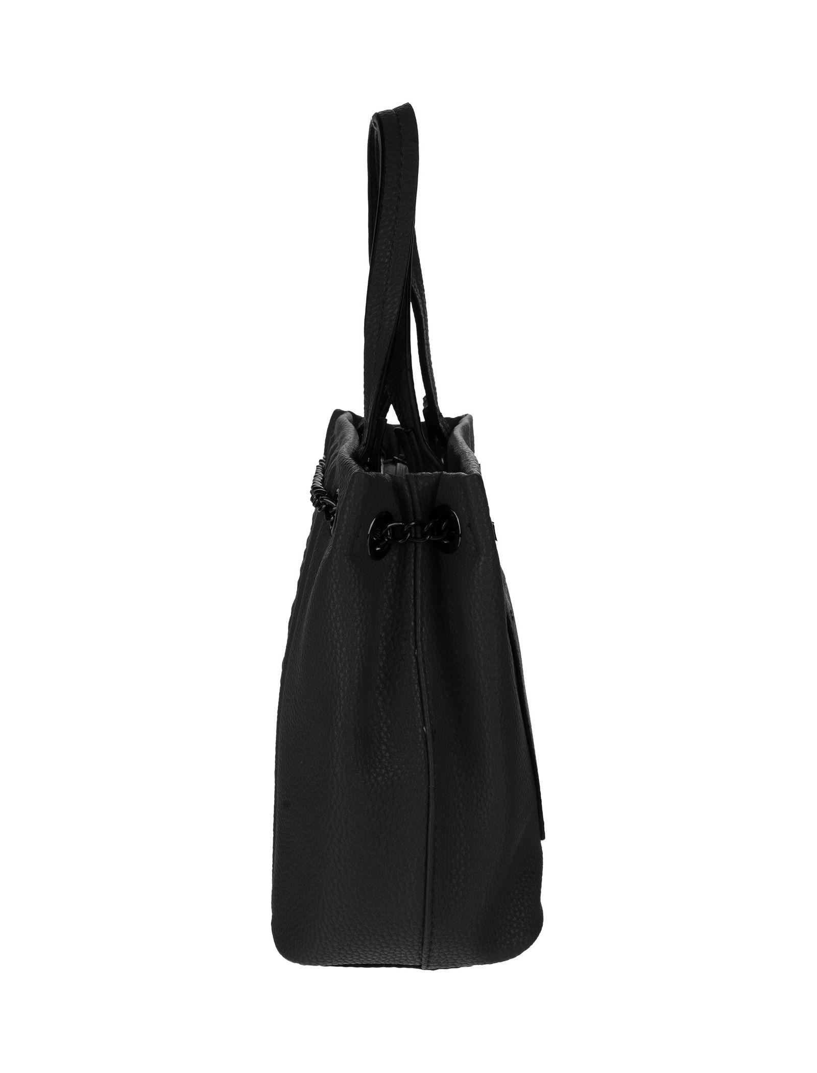 کیف دستی روزمره زنانه - جانی اند جانی تک سایز - مشکي - 6