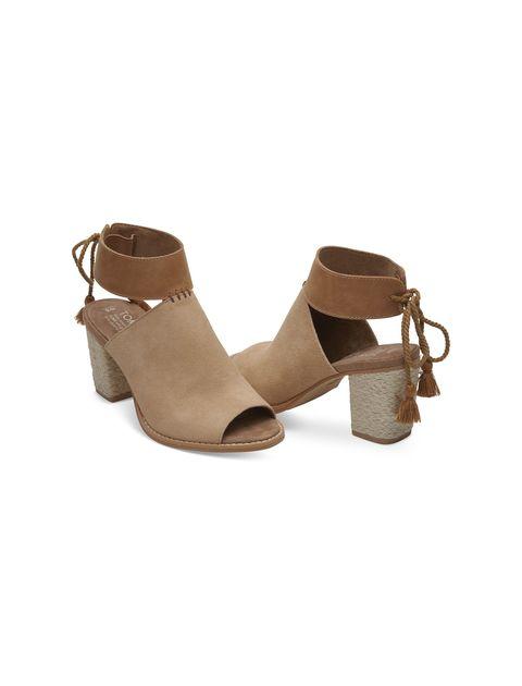 کفش پاشنه بلند چرم زنانه Seville - عسلي - 3