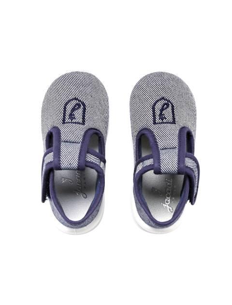 کفش چسبی نوزادی پسرانه Sommeil - آبي - 2