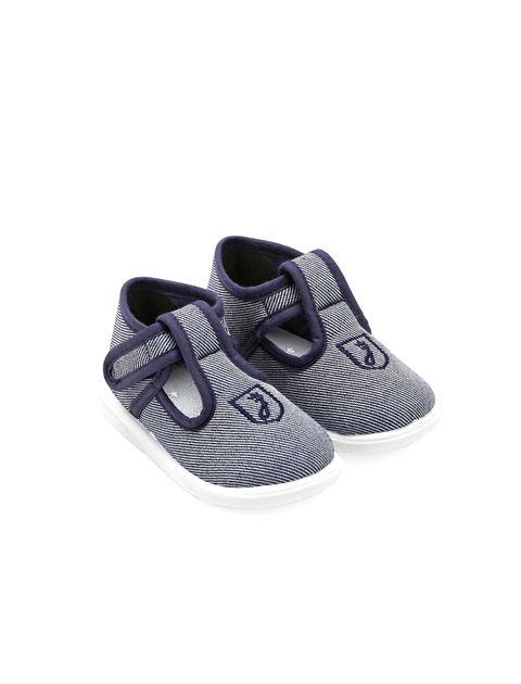 کفش چسبی نوزادی پسرانه Sommeil - آبي - 3
