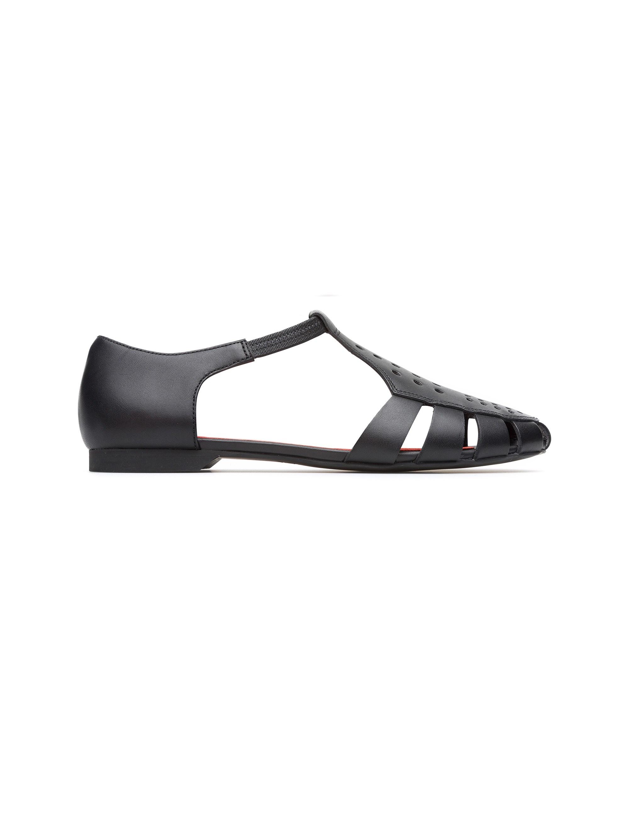 کفش چرم تخت زنانه Servolux - مشکي - 1