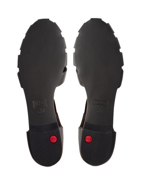 کفش چرم تخت زنانه Servolux - مشکي - 2