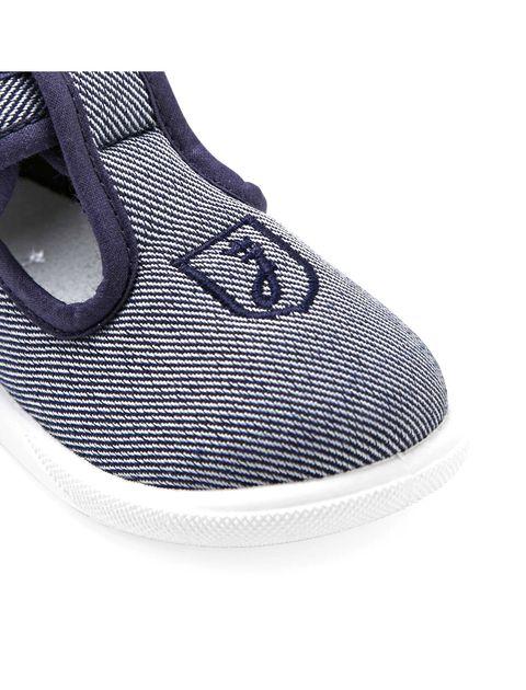 کفش چسبی نوزادی پسرانه Sommeil - آبي - 4