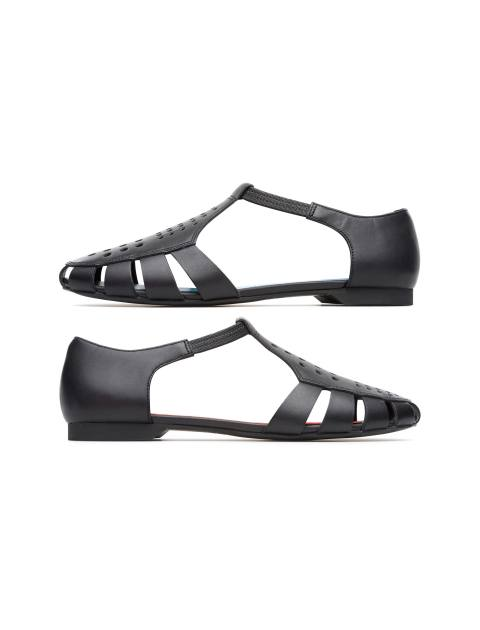 کفش چرم تخت زنانه Servolux - مشکي - 3