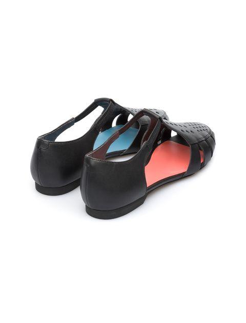 کفش چرم تخت زنانه Servolux - مشکي - 6