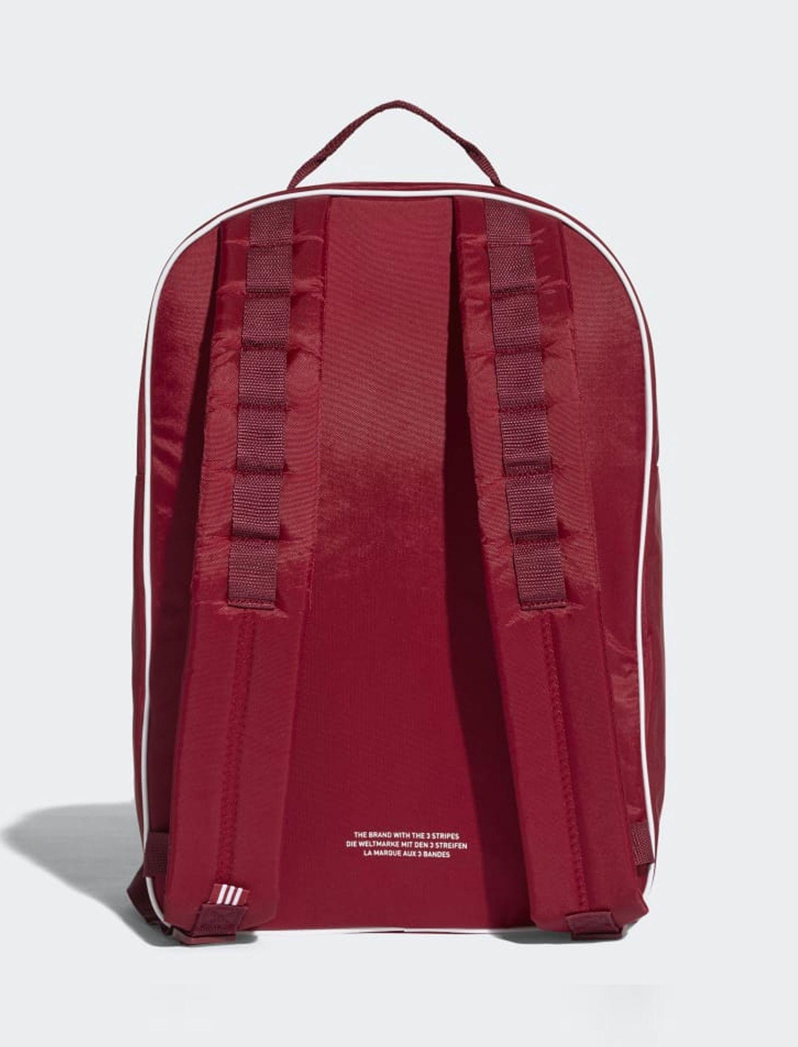 کوله پشتی روزمره بزرگسال Classic - آدیداس تک سایز - قرمز تيره - 2