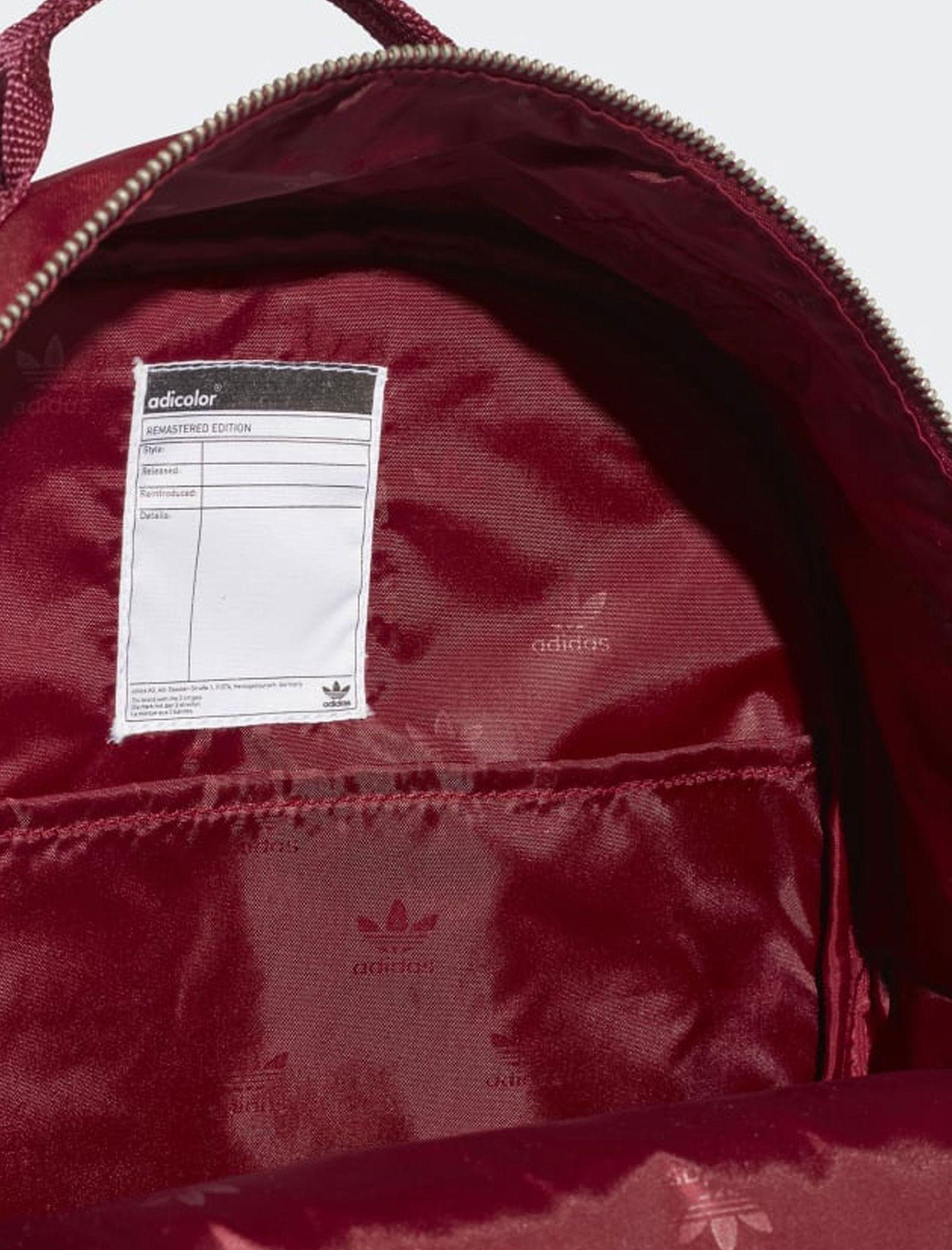 کوله پشتی روزمره بزرگسال Classic - آدیداس تک سایز - قرمز تيره - 4