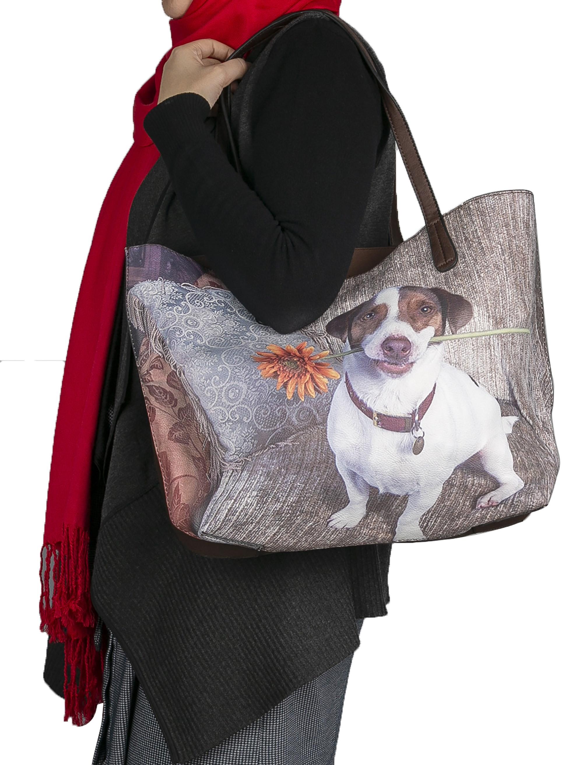 کیف دوشی زنانه - شانتال تک سایز -  - 2