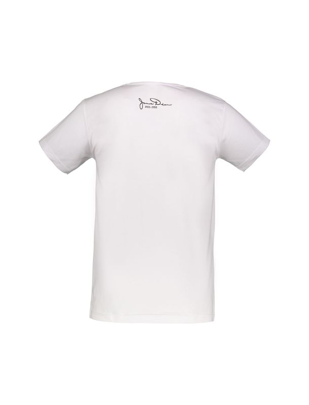 تی شرت نخی یقه گرد مردانه- نامدارز