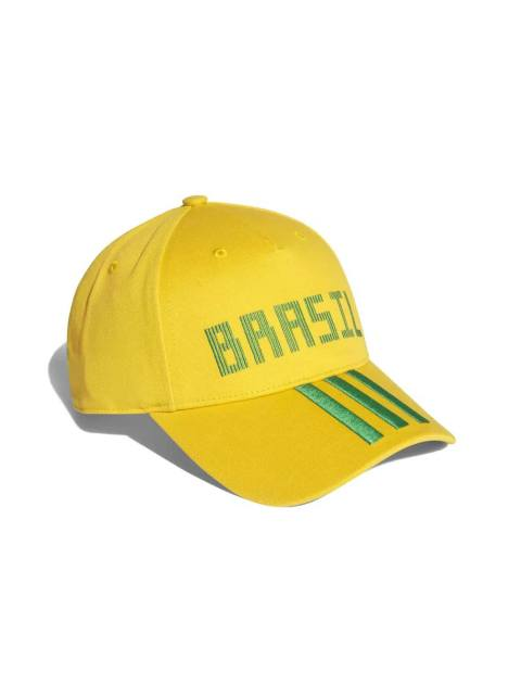 کپ نخی ساده بزرگسال Brazil - آدیداس - زرد - 1