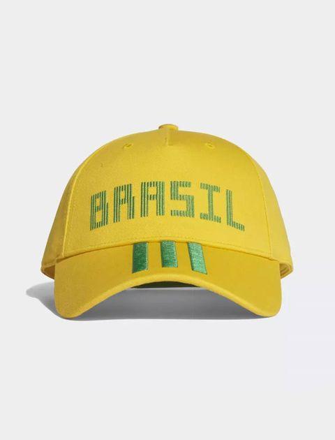 کپ نخی ساده بزرگسال Brazil - آدیداس - زرد - 2