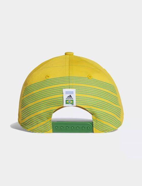 کپ نخی ساده بزرگسال Brazil - آدیداس - زرد - 3