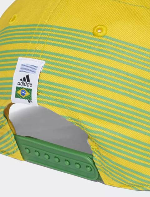 کپ نخی ساده بزرگسال Brazil - زرد - 5