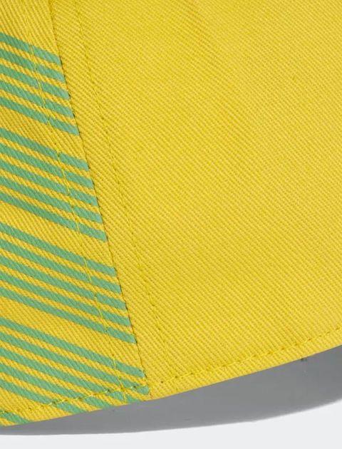 کپ نخی ساده بزرگسال Brazil - آدیداس - زرد - 6