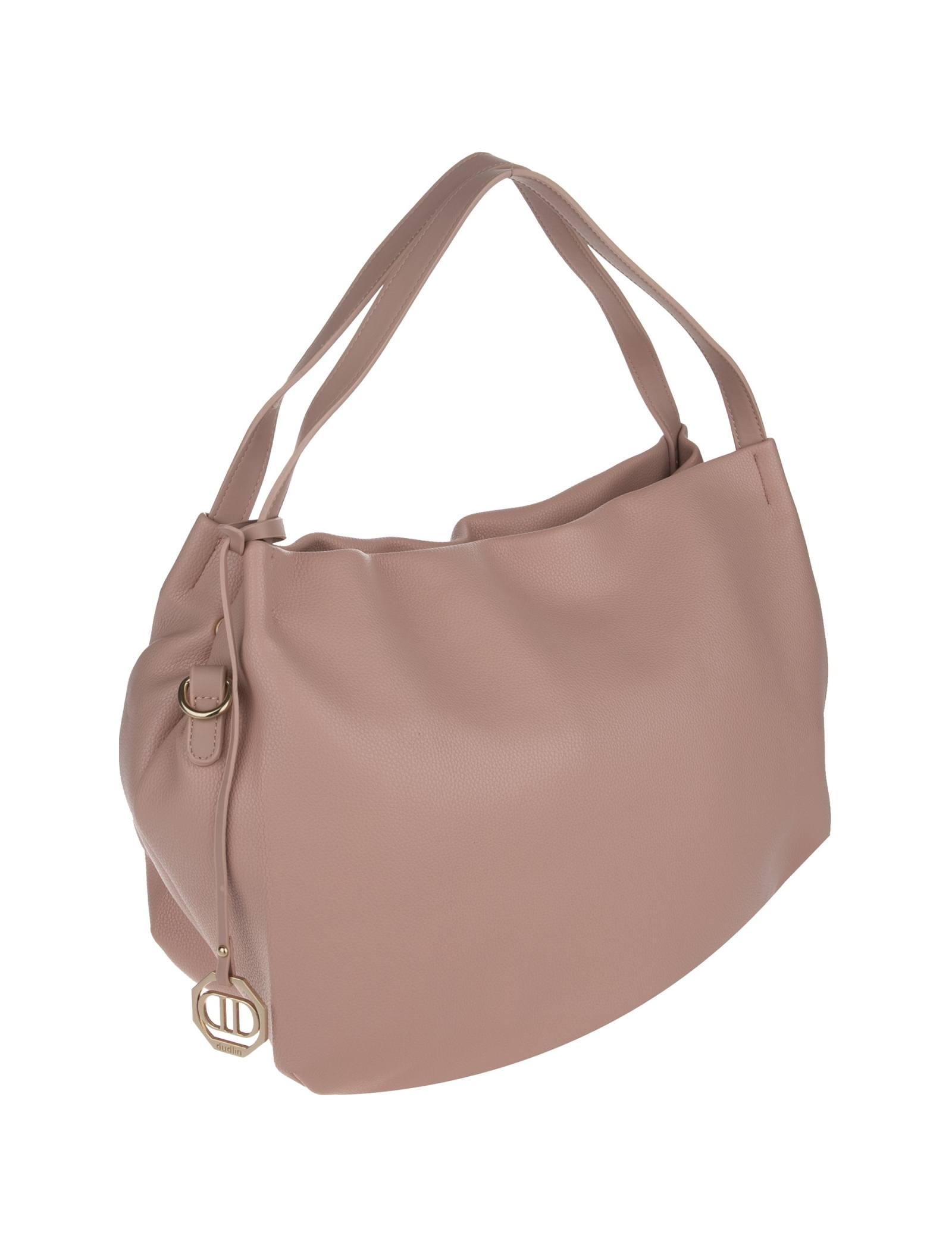 کیف دوشی روزمره زنانه - دادلین تک سایز - صورتي - 4