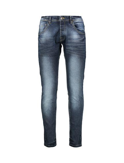 شلوار جین جذب  مردانه - آبي - 1