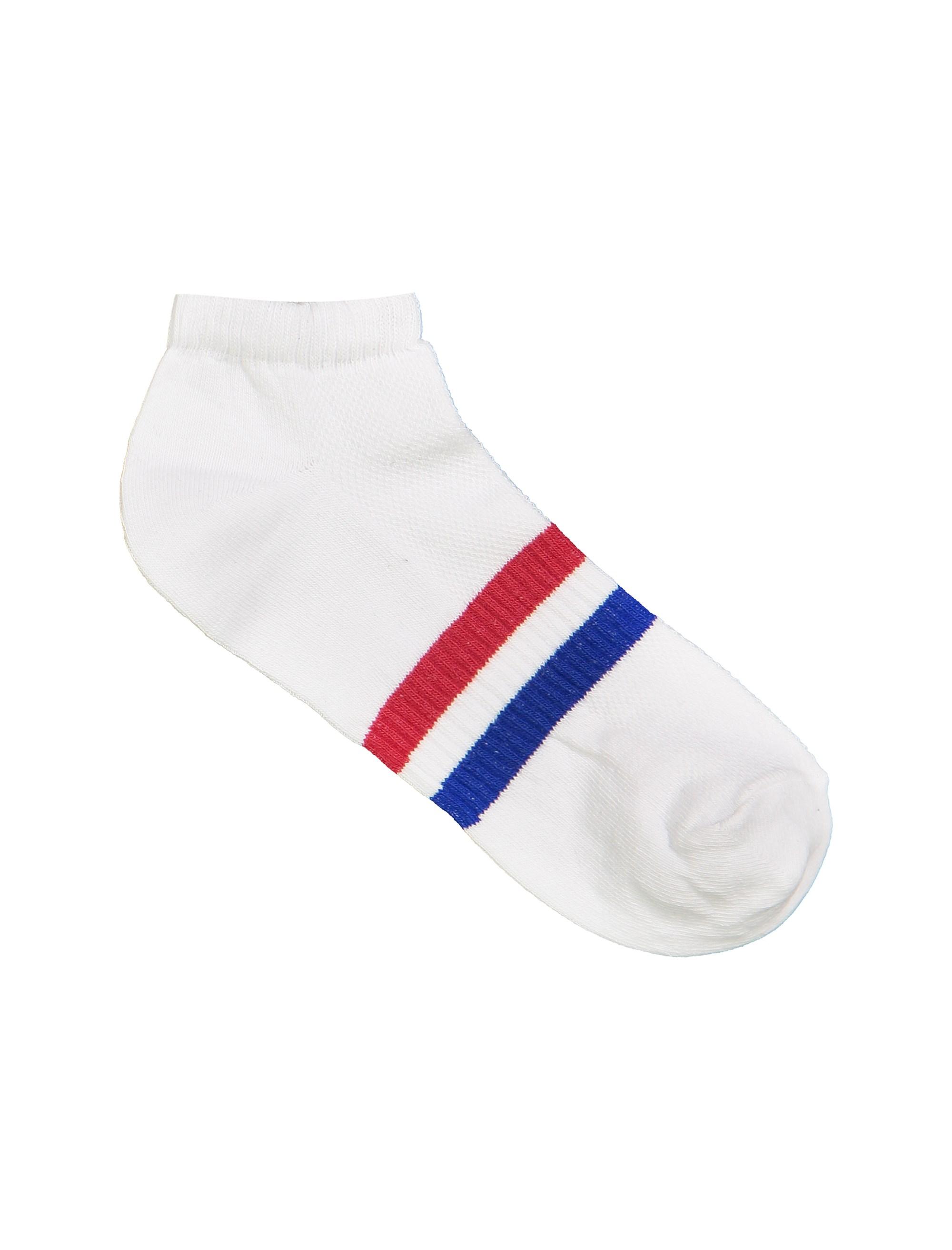جوراب نخی ساق کوتاه مردانه بسته 3 عددی - چند رنگ - 6