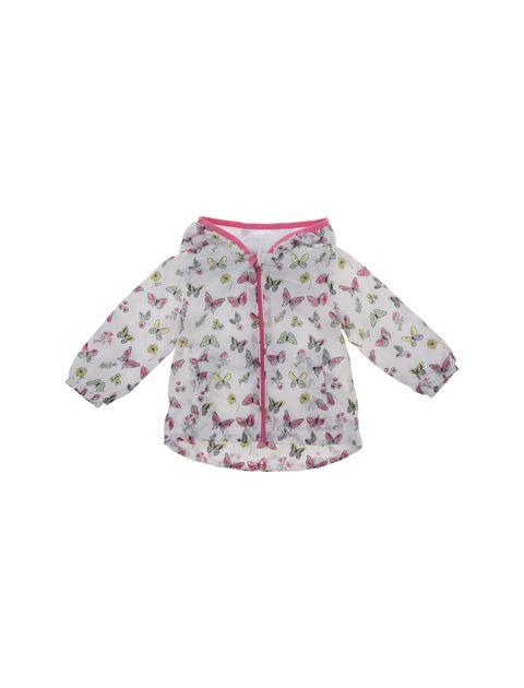 کاپشن طرح دار نوزادی دخترانه - بلوکیدز - سفيد - 1