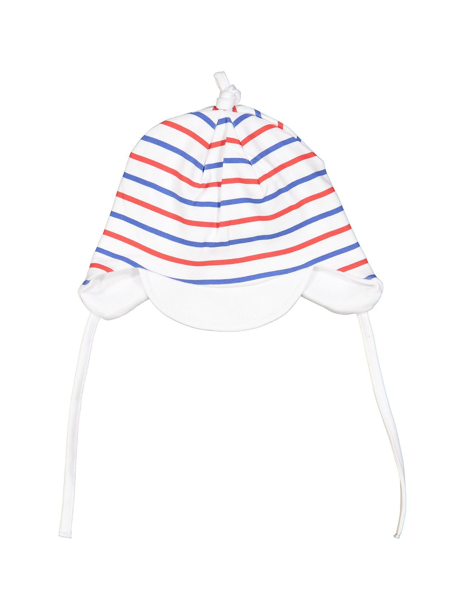 کلاه نخی طرح دار نوزادی پسرانه - ایدکس - سفيد - 1