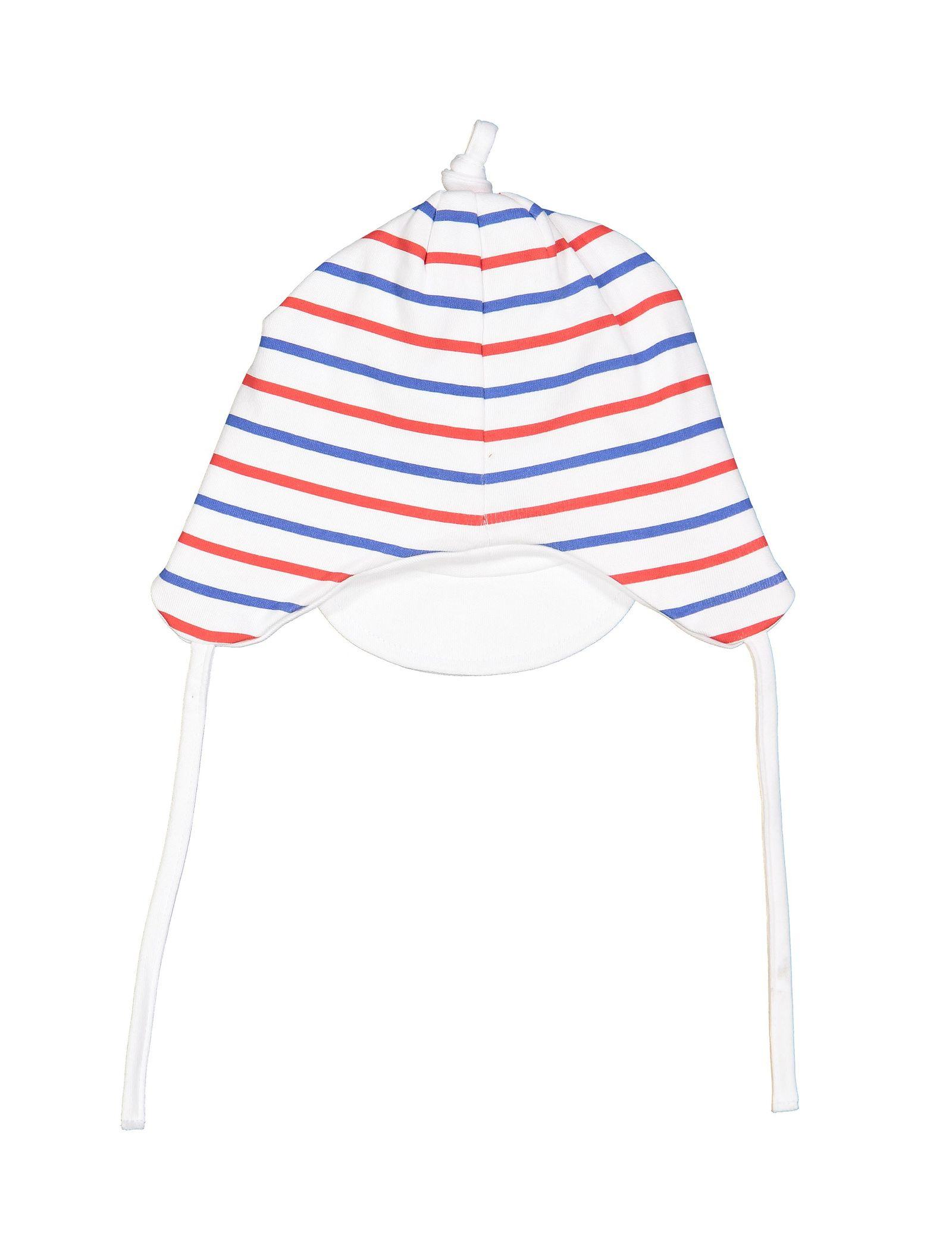 کلاه نخی طرح دار نوزادی پسرانه - ایدکس - سفيد - 2
