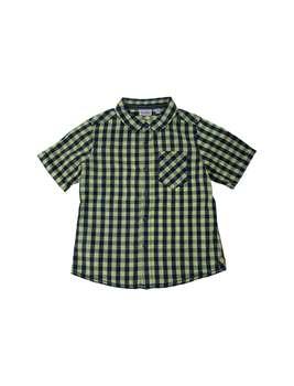 پیراهن نخی یقه برگردان پسرانه