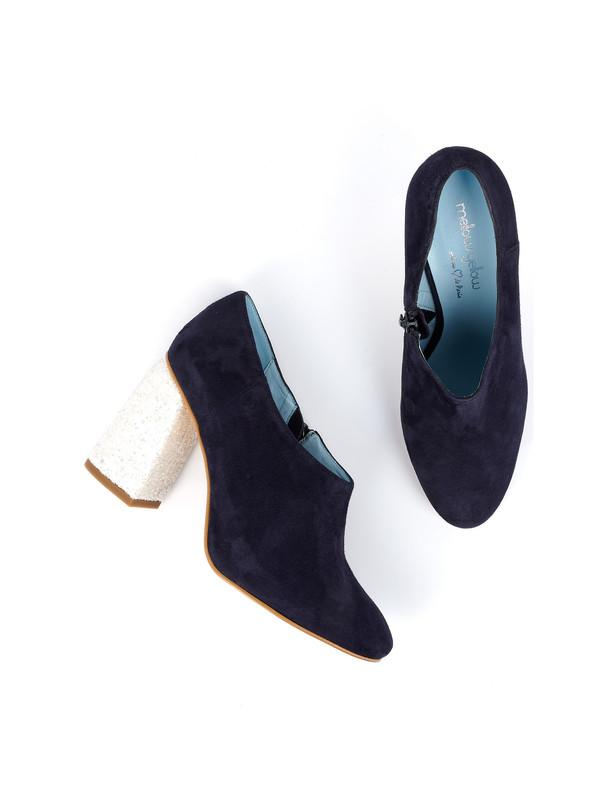 کفش جیر پاشنه بلند زنانه