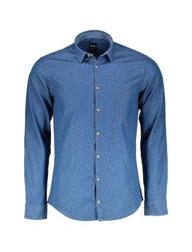 پیراهن نخی آستین بلند مردانه Erum