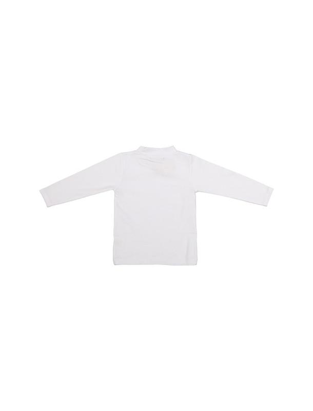 تی شرت نخی ساده دخترانه کلاسیک - تدی بیر