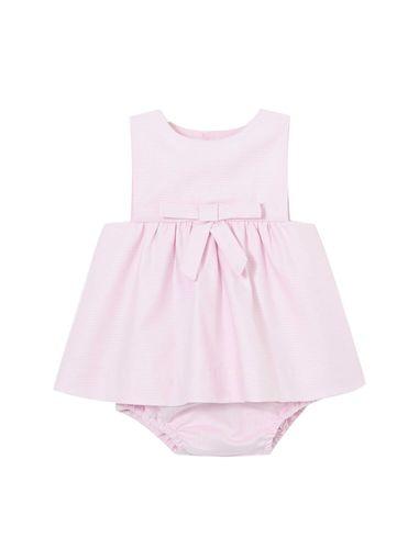 پیراهن نخی نوزادی دخترانه Ladie - جاکادی