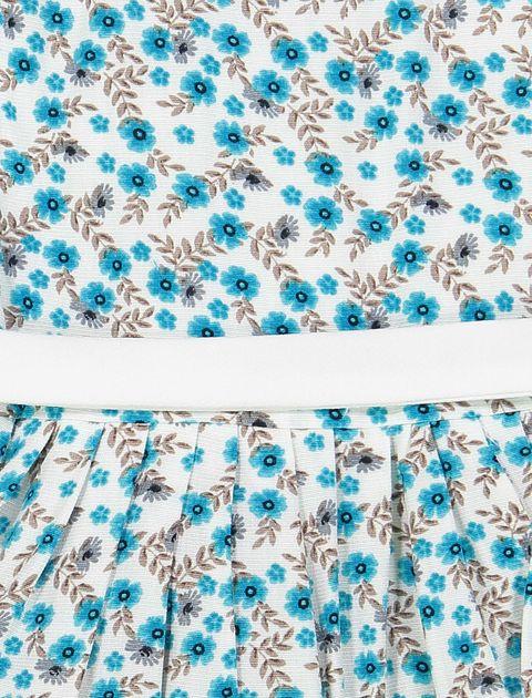 پیراهن مهمانی دخترانه - آبي  - 3