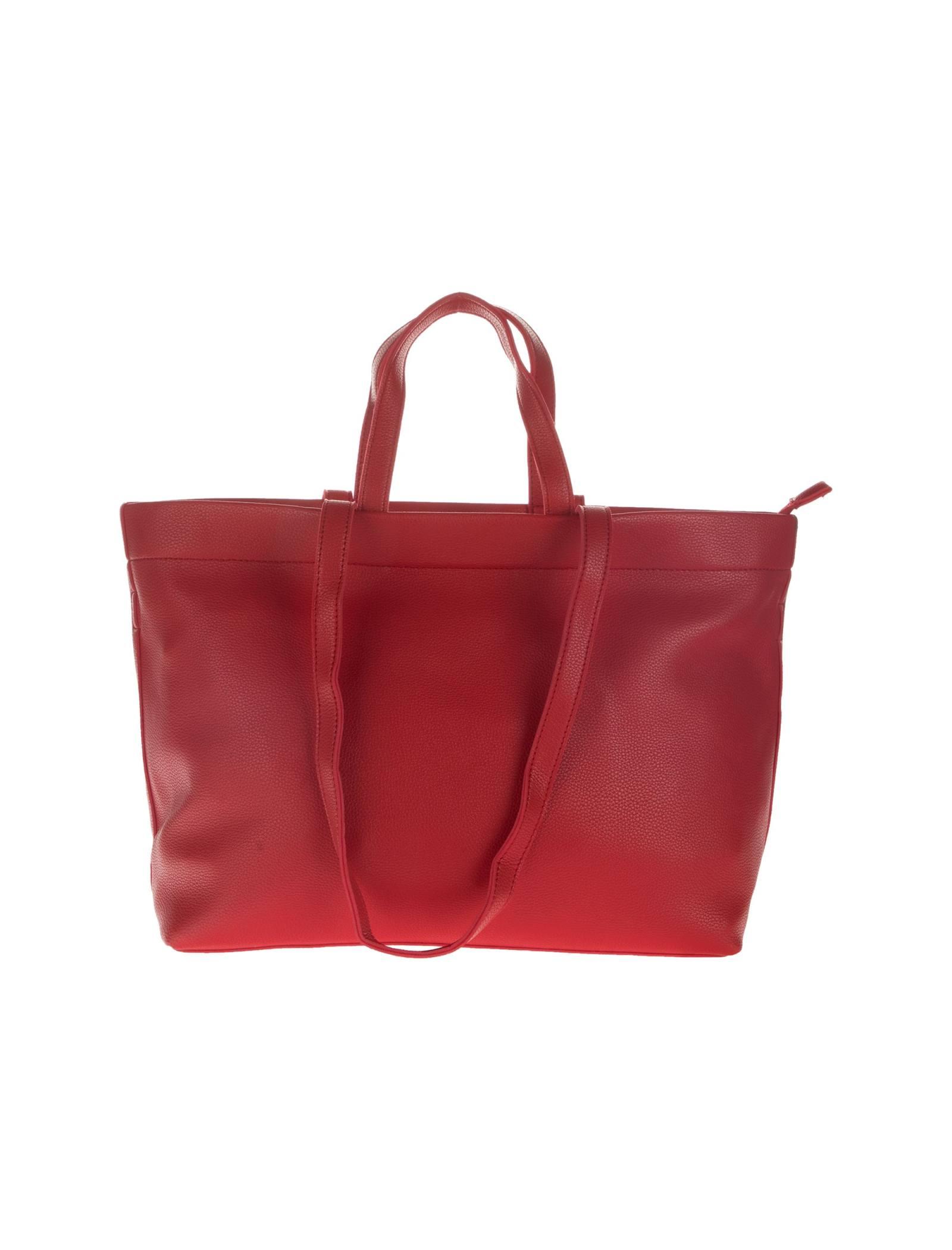 کیف دوشی روزمره زنانه - دادلین - قرمز  - 3