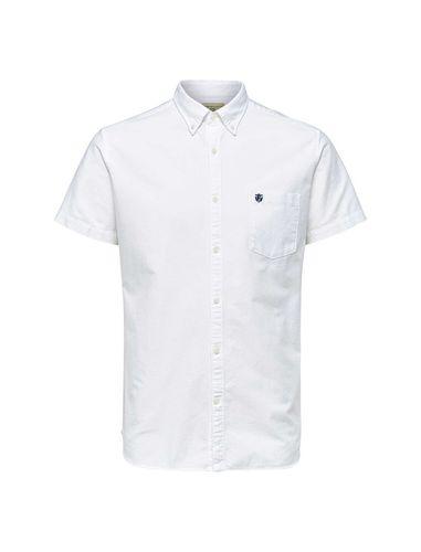 پیراهن نخی آستین کوتاه مردانه