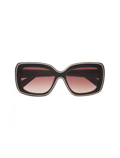 عینک آفتابی مربعی زنانه - کریستین لاکروآ - مشکي - 1