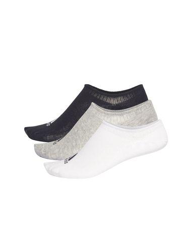 جوراب نخی بدون ساق بزرگسال بسته 3 عددی - آدیداس