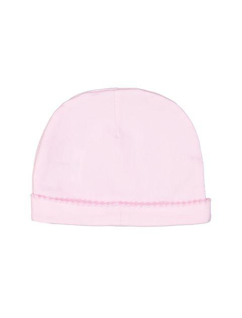 کلاه نخی بانی نوزادی دخترانه - ایدکس - صورتي - 2