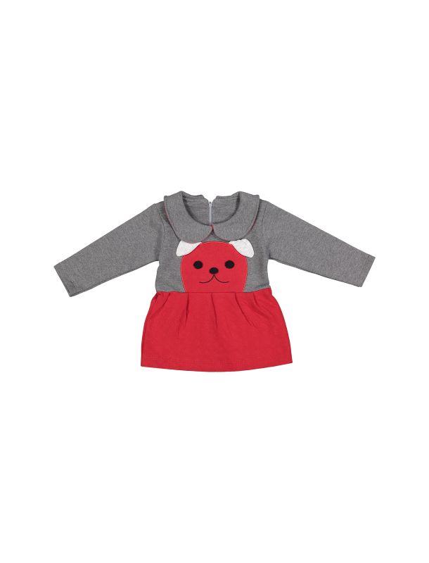 پیراهن و شلوار نخی دخترانه - سون پون