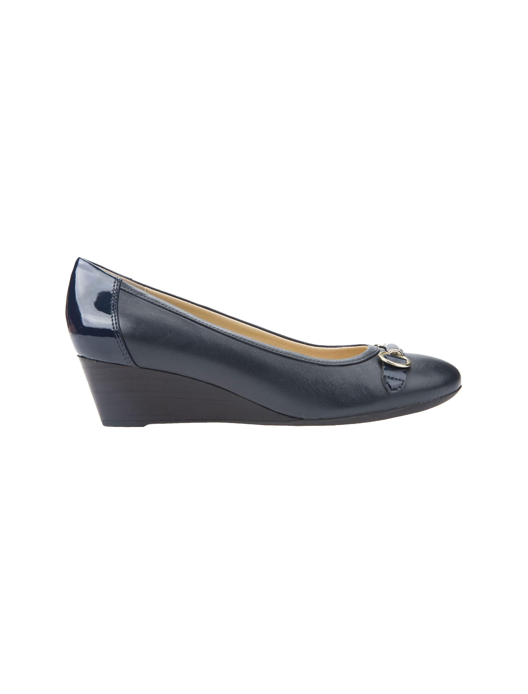 کفش لژدار چرم زنانه Floralie - جی اوکس