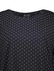 تی شرت یقه گرد زنانه - یوپیم - مشکي - 4