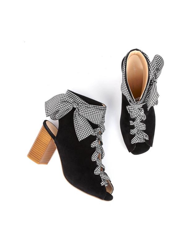 کفش جیر پاشنه بلند زنانه DOMALIA
