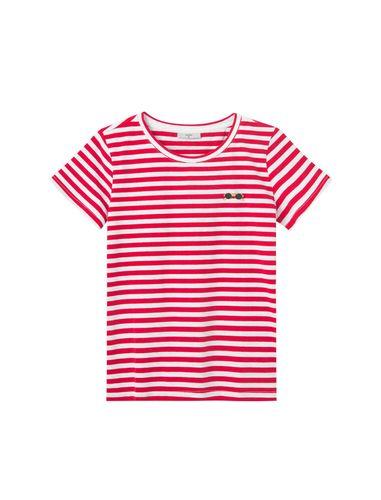 تی شرت نخی یقه گرد زنانه Gabriella