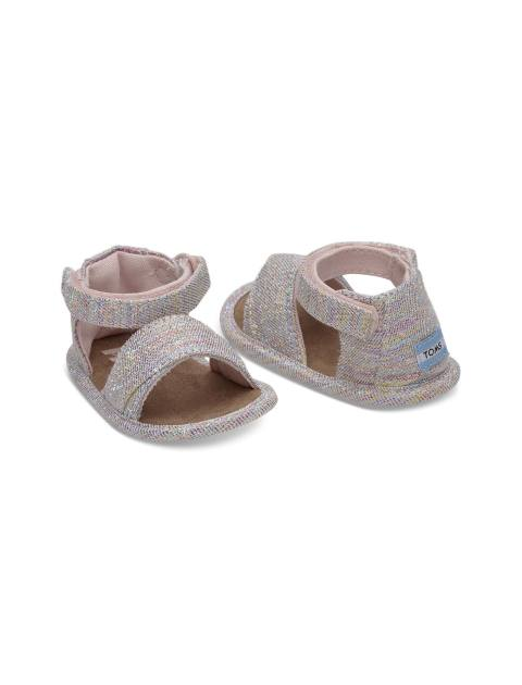 صندل پارچه ای چسبی نوزادی دخترانه SHILOH - تامز - چند رنگ - 4