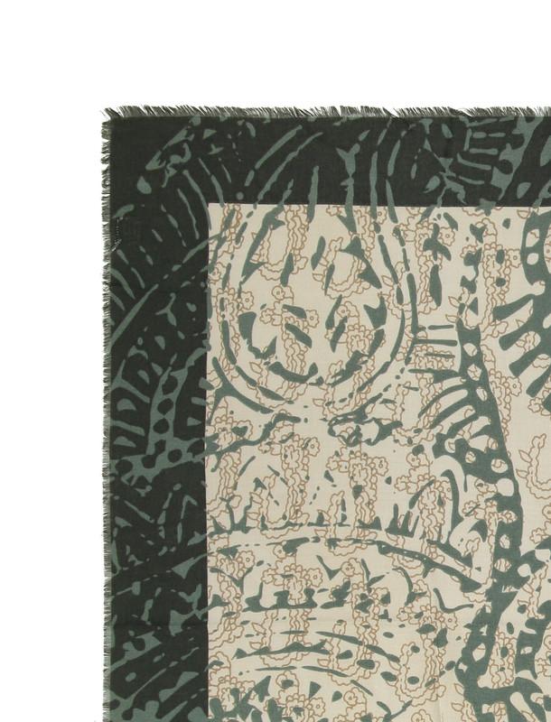 روسری طرح دار زنانه - زیبو