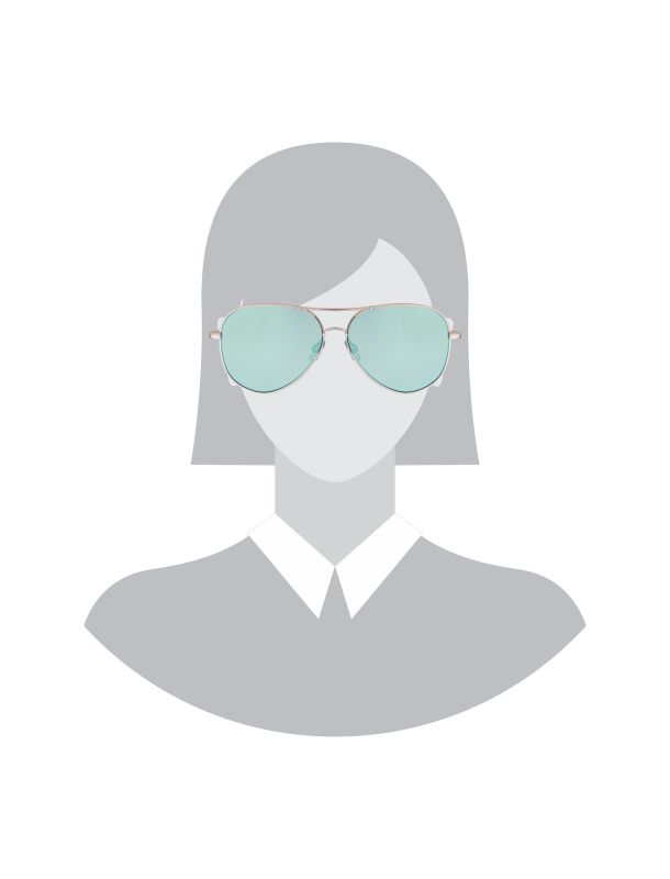 عینک آفتابی خلبانی زنانه - سلکتد