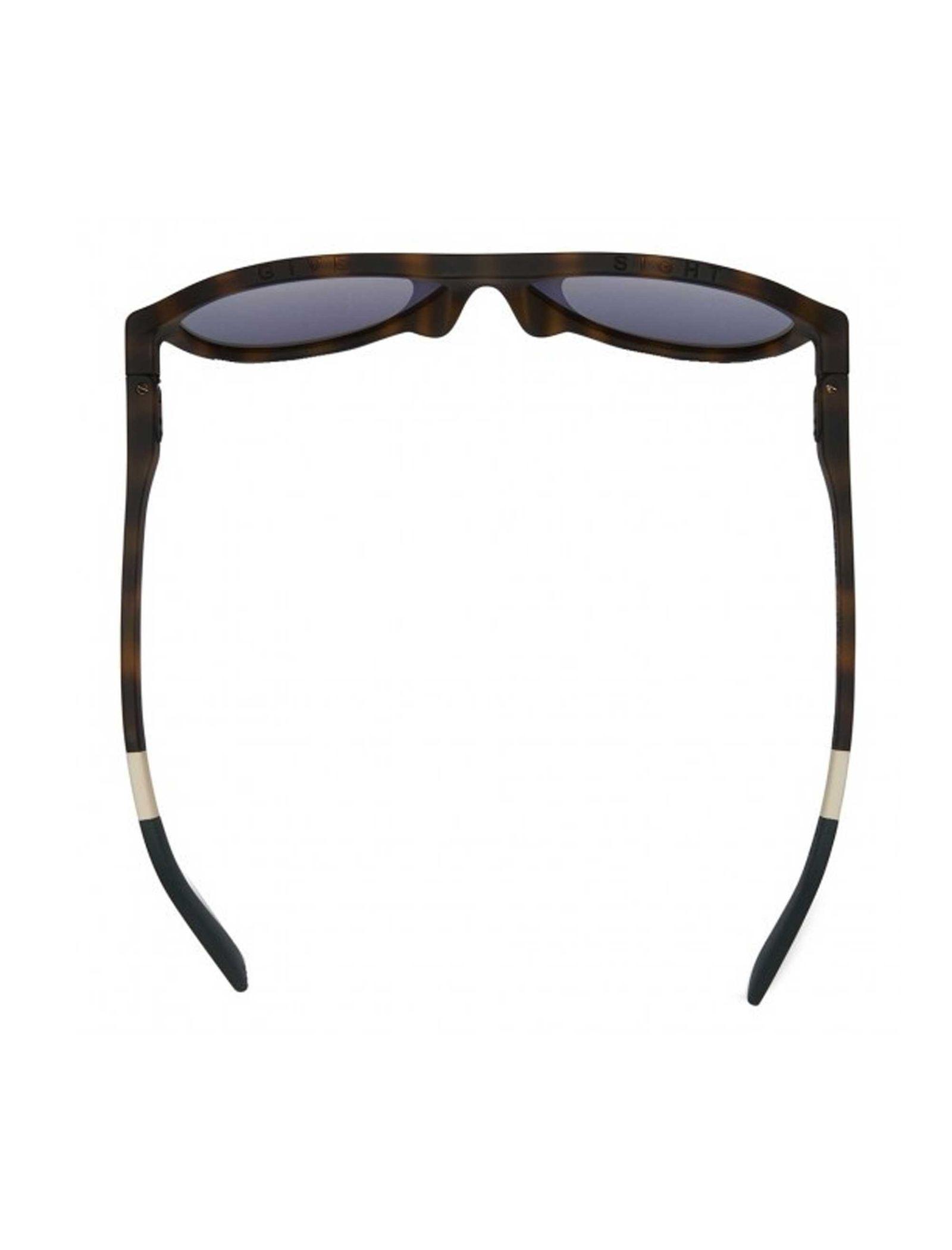 عینک آفتابی خلبانی بزرگسال ZION - تامز - قهوه اي - 5