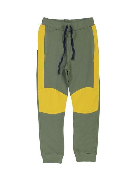 پیراهن و شلوار پسرانه - سبز - 4