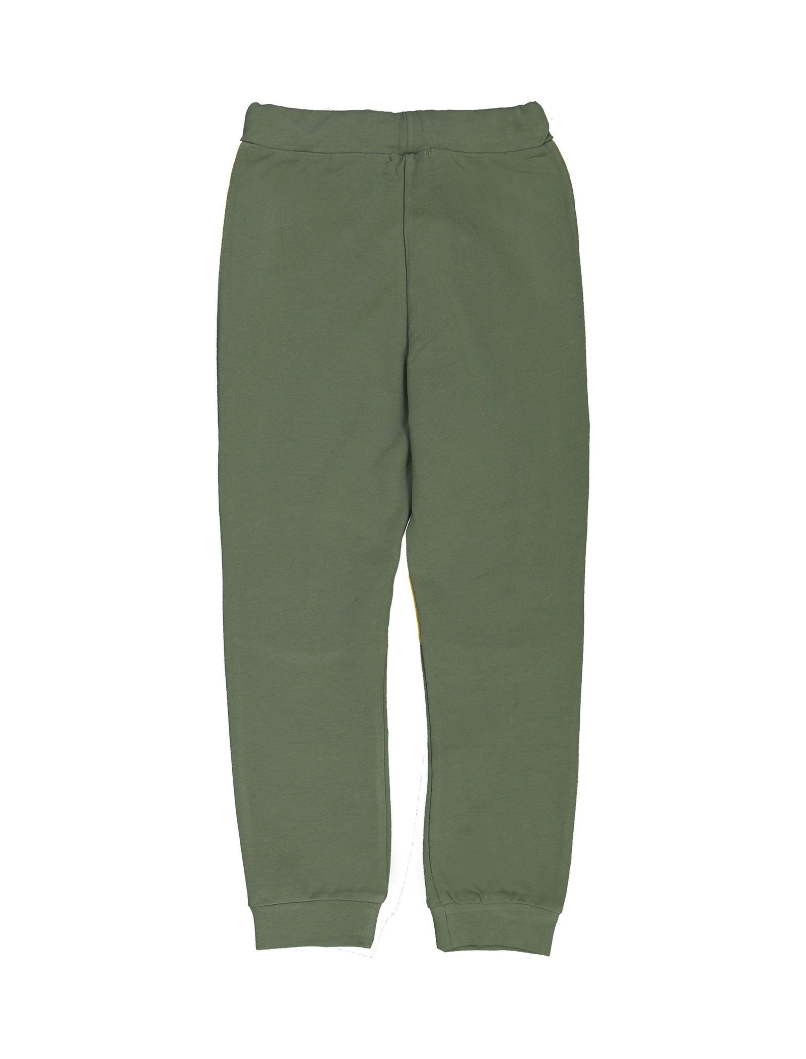 پیراهن و شلوار پسرانه - پیانو - سبز - 5
