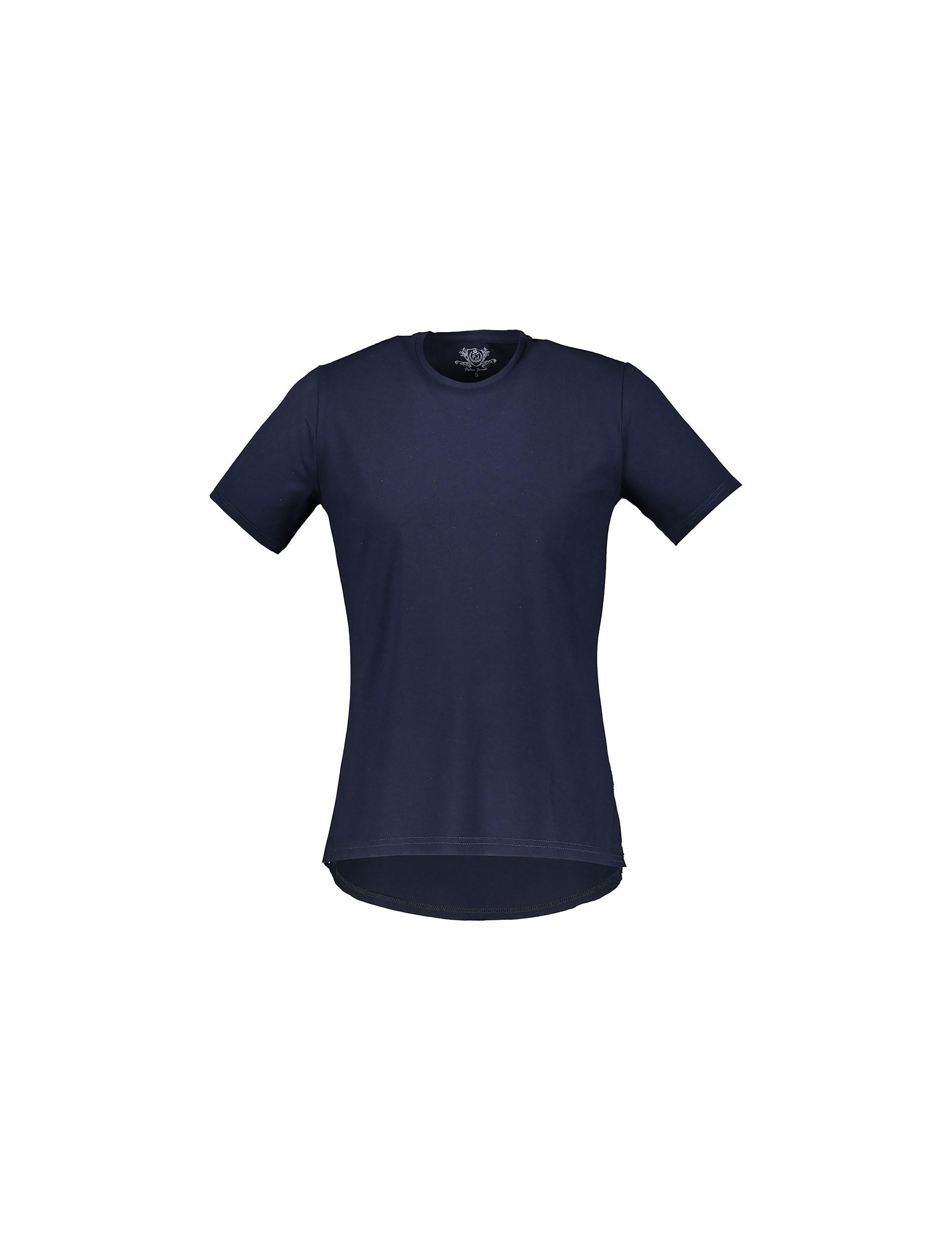 تی شرت نخی یقه گرد مردانه - پاتن جامه