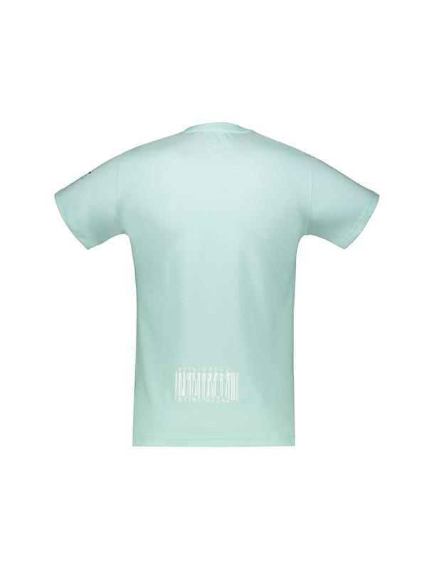 تی شرت نخی یقه گرد مردانه - نامدارز